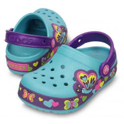 Sabot Junior Crocslights Butterfly Crocs