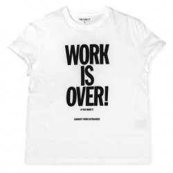 T-Shirt Femme Work is over Carhartt