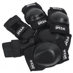 Pack Protections Adulte (Genoux/Coudes/Poignets)Tsg