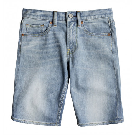 Short Junior Worker Light Indigo Blue Dc