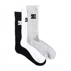 Mi-chaussettes Homme Pack 3 paires DC