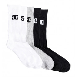 Chaussettes CREW PACK DC
