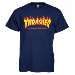 T-Shirt Flamme LOGO Thrasher