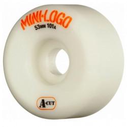 Roues Skateboard A-CUT 53mm Mini logo