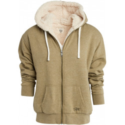 Sweat Polaire Femme Capuche Zippé ESSENTIAL ZH SHERPA Billabong