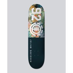 """Plateau Skateboard FLORAL 92 JULIAN 8"""" Element"""