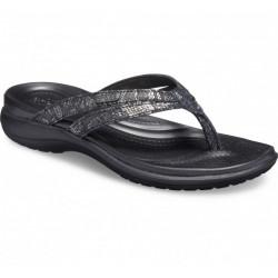 Sandales Femme Capri Strappy Flip Crocs