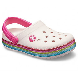 Sabots Junior Sequin Band Clog Crocs