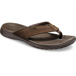 Tongs Santa Cruz Leather Flip Crocs