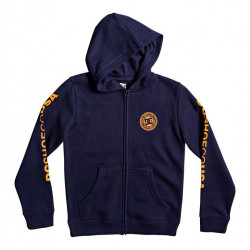 Sweat Junior capuche zippé Circle Star DC