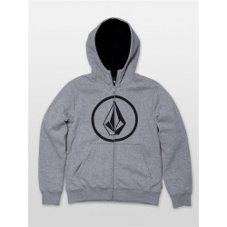 SWEAT Junior CAPUCHE STONE LINED ZIP Volcom