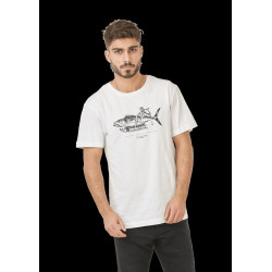 T Shirt Homme FISHER DAD & SON Picture