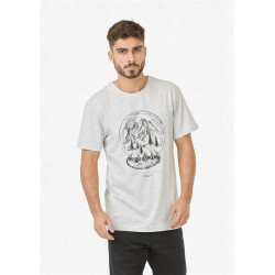 T Shirt Homme SNOWY LAND DAD & SON Picture