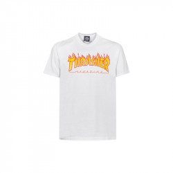 T Shirt Homme flame logo Thrasher