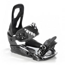 Fixations Snowboard S200 RAVEN