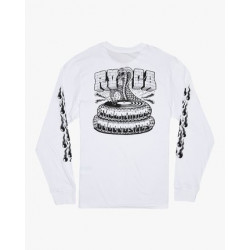 T Shirt Homme Manches Longues SNAKE RVCA