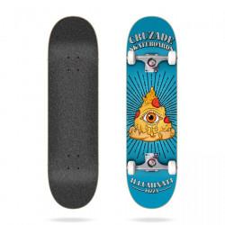 """Skateboard Illuminaty Pizza 8.0"""" Cruzade"""