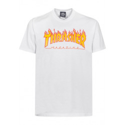 T-shirt flame logo Thrasher