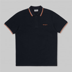 Polo Homme Script embroidery Carhartt wip