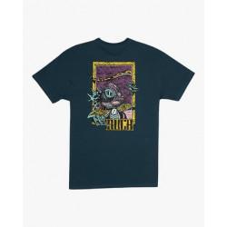T Shirt Homme ROBERTO REONDO LIZARD WIZARD RVCA