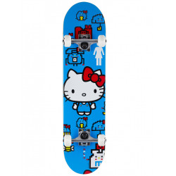 "Skateboard Complet KITTY SANRIO MALTO 7.75"" GIRL"