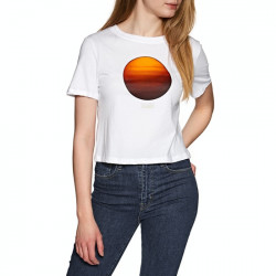 T Shirt Femme National Geographic Crop Element