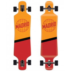 "Longboard Spade Drop-Thru 39"" World MADRID"