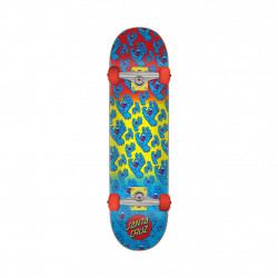 "Skateboard HANDS ALLOVER 7.8"" Santa Cruz"