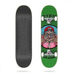 "Skateboard 8"" Shut Up And Skate Cruzade"