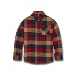CHEMISE Junior CADEN PLAID Volcom