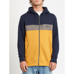 Sweat Homme Capuche Zippé SINGLE STONE DIV Volcom