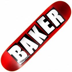 """Plateau Skate 8.25"""" BRAND LOGO RED OIL Baker"""