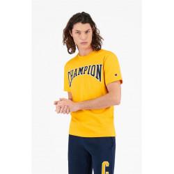 T-Shirt Homme Logo UNIVERSITAIRE Champion