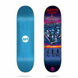 "Plateau Skateboard 8.375"" Stranger Danny Leon Jart"