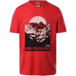 T Shirt Homme NATURAL WONDERS The north face