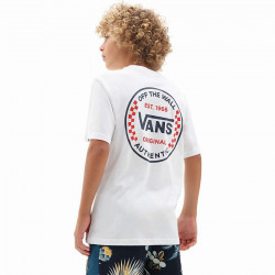 T Shirt Junior Authentic Checker Vans