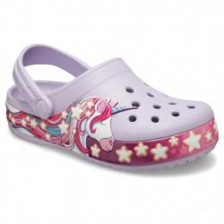 Sabots Junior Fun Lab Star Band Clog Crocs