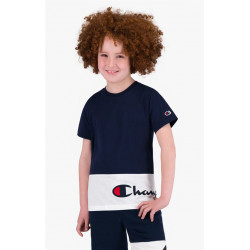 T Shirt Junior LOGO BLOC Champion