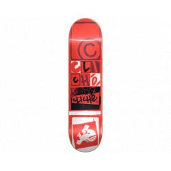 """Plateau Skateboard 8.375"""" Letter Cliche"""