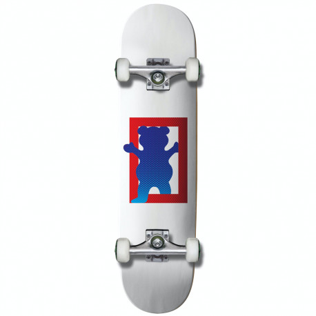 """Skateboard 8"""" OUT THE BOX Grizzly"""