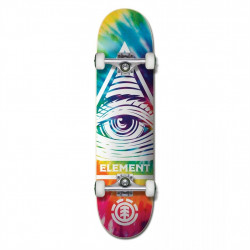 "Skateboard 8"" EYE TRIPPIN RAINBOW Element"