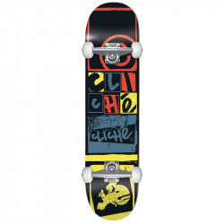 "Skateboard Complet 8"" LETTER PRESS Cliché"