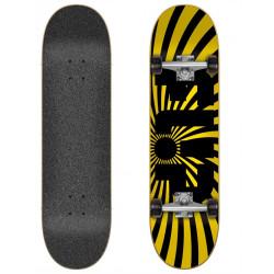 "Skateboard Complet 8"" SPIRAL YELLOW Flip"