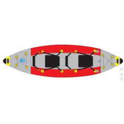 KAYAK gonflable SURFPISTOLS