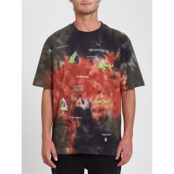 T-shirt Homme PENTAGRAM PIZZA - MULTI Volcom