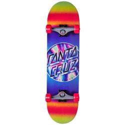 "Skateboard complet 8.25"" IRIDESCENT Santa Cruz"
