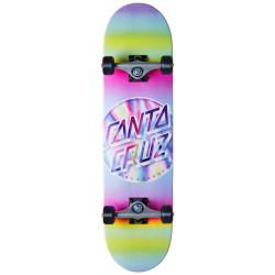 "Skateboard complet 8"" IRIDESCENT Santa Cruz"