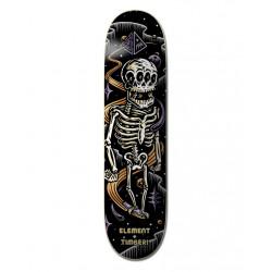 """Planche de Skate 8"""" TIMBER SKELETON Element"""