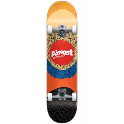 """Skateboard Complet 7.5"""" RADIATE YELLOW Almost"""