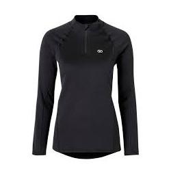 T-shirt Femme col zippé Easy Body Thermolactyl 4 Damart Sport